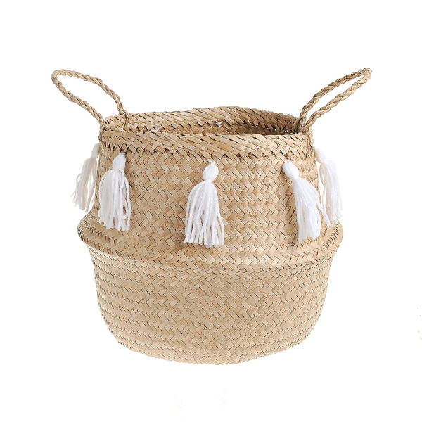 Picture of Belly basket with tassels