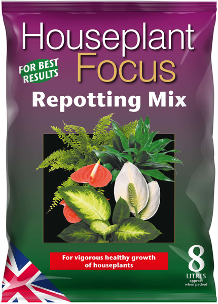 Picture of Houseplant Focus compost 8L