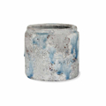 Picture of Textured white & blue pot | Garden Trading