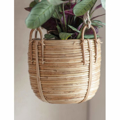 Picture of Rattan hanging pot | Garden Trading
