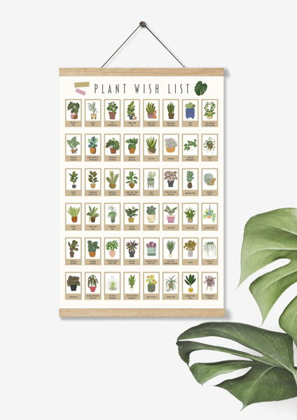 Picture of Scratch-Off Plant Wish List