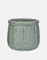 Picture of Blue crackle pot | Garden Trading
