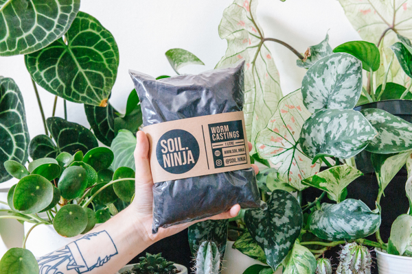 Picture of 1l Worm castings | Soil Ninja